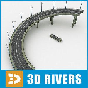 highway bridge descent road max