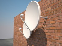 maya satellite dish