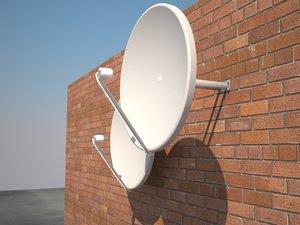 maya satellite dish