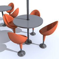 swivel bar 3d model