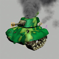 max cartoon rigged tank 2008