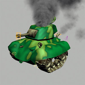 max cartoon rigged tank 2008