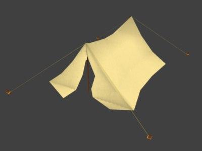 3d tent house