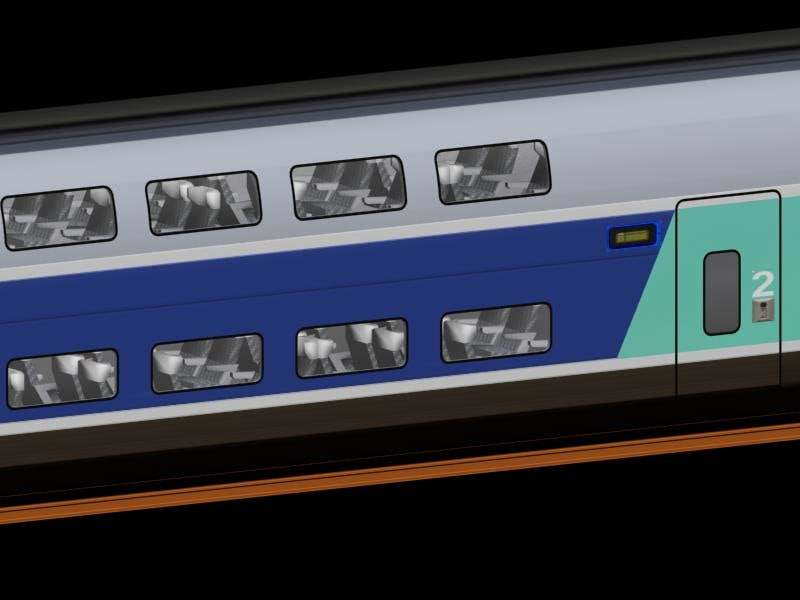 max tgv duplex train car