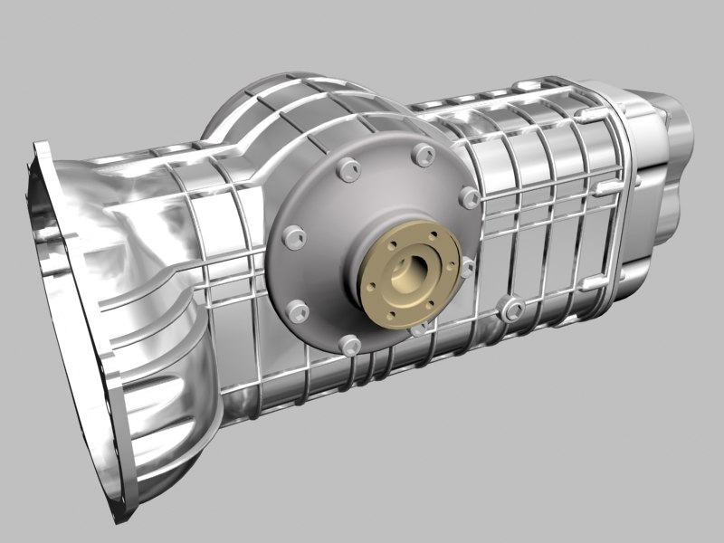 transaxle hewland 3d model