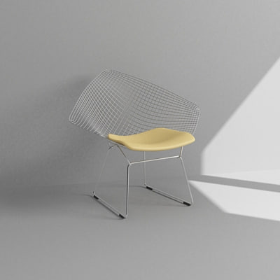 contemporary chair 3d max