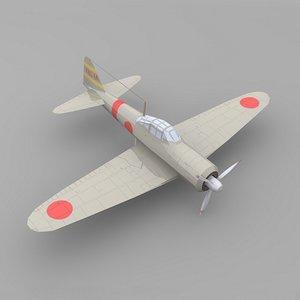plane zero 3d model