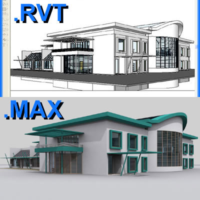 school building revit file max