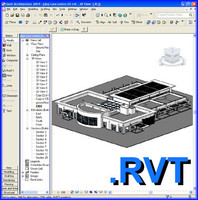 3d model school building revit day