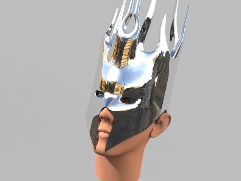 3d human helm