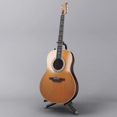 ovation guitar 3ds
