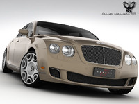 bentley continental flying 3d model