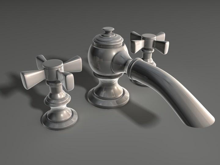 bathroom faucet faucet-6 3d c4d