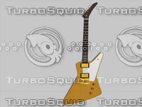 gibson custom 50th anniversary 3d model