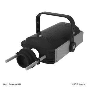 maya gobo projector