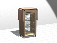 kitchen island 3d max