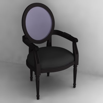 3d chair realtime