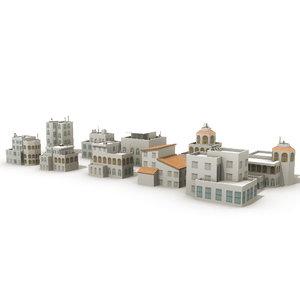 3d model villas