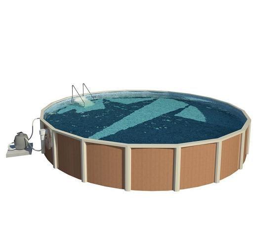3d model ground pool