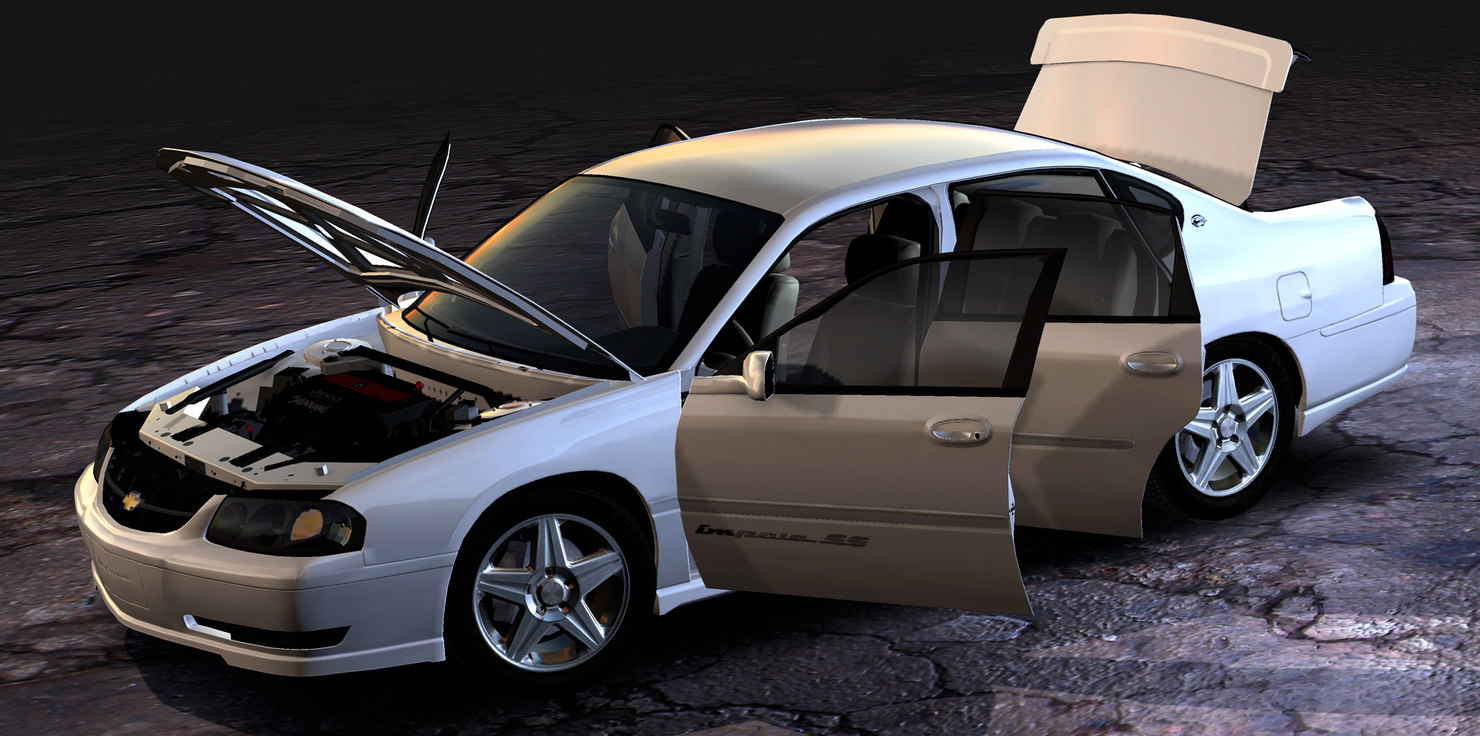chevrolet impala ss 3d model