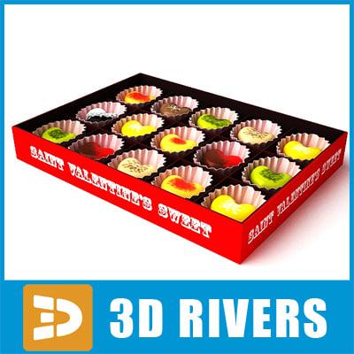 saint valentine candies 3ds