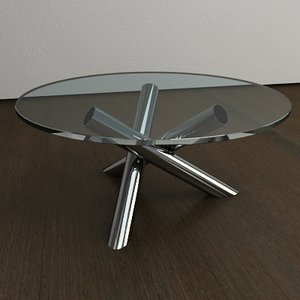 italian designer coffee table 3d 3ds