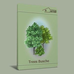 tree shrub 3d model