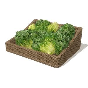 obj broccoli basket