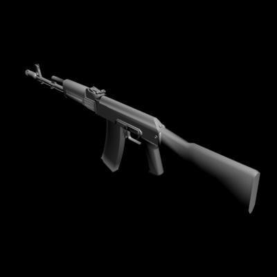 3d 3ds ak-74m