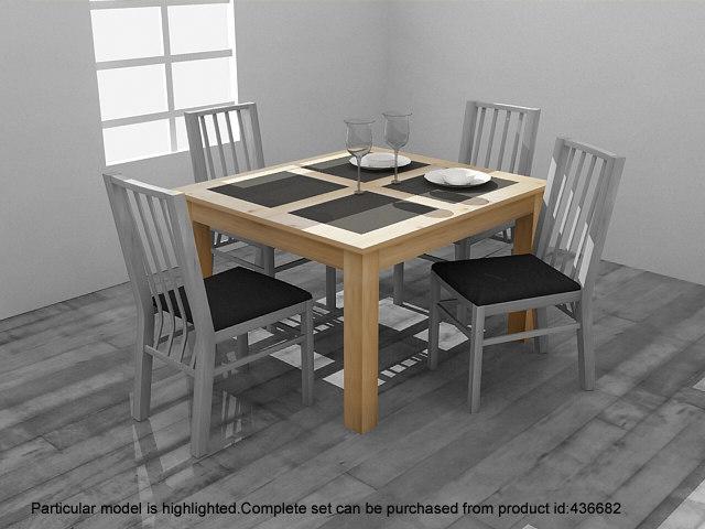 max atlantis dining table set