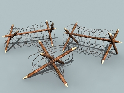3d barbed wire barriers