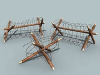 barbed wire set 2