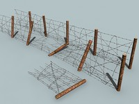 barbed wire 3d max