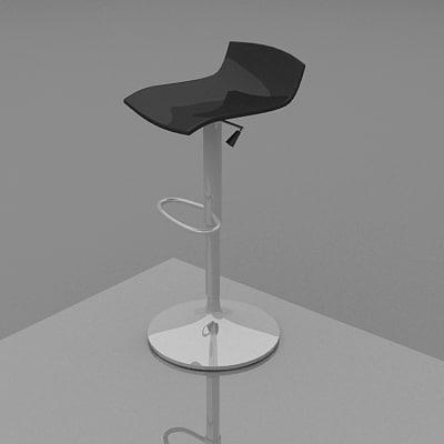 3dsmax bistro chair coffee furniture