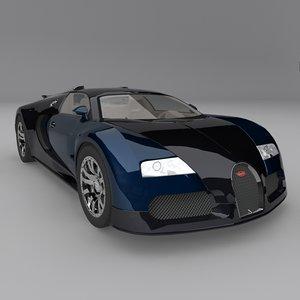 3ds max bugatti veyron