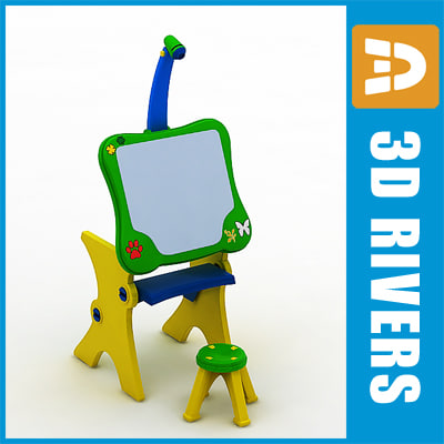 ma plastic easel toy