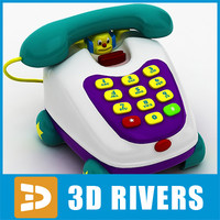 Toy phone by 3DRivers