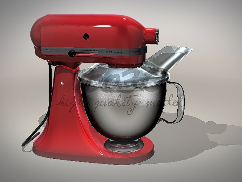 kitchen mixer 3d model