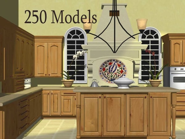 3ds max 250 cabinets