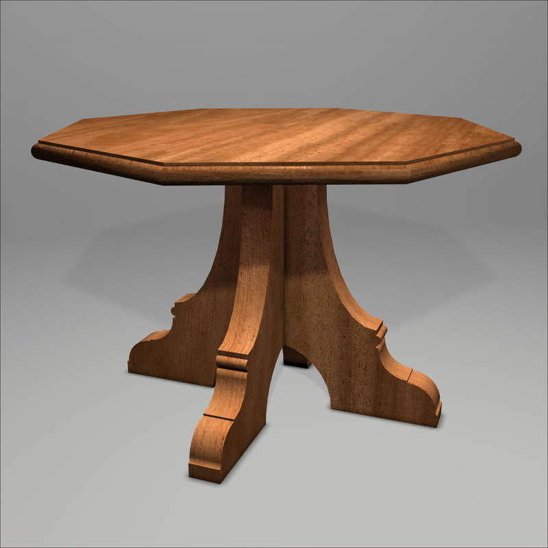 gothic table 3d 3ds