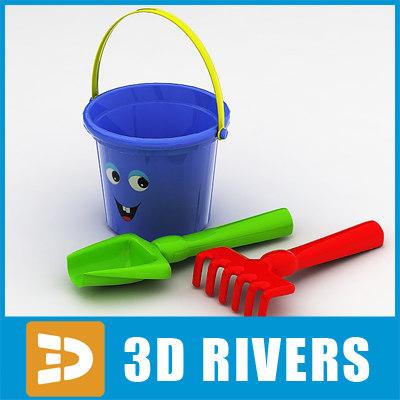 kids sandbox set toy 3ds