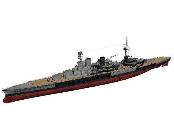 3ds max hms repulse ships