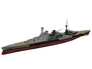 3ds max hms repulse ships