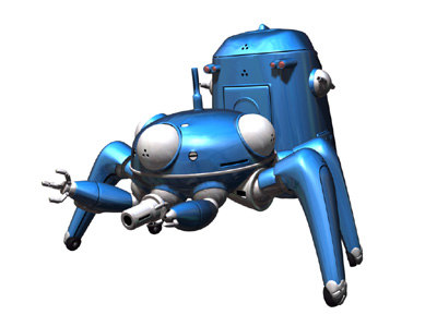 tachikoma c 3d model