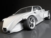 Concept sports car