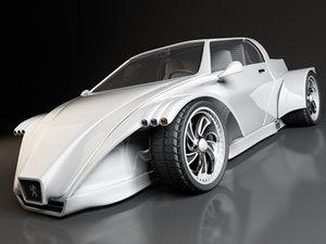concept car c4d