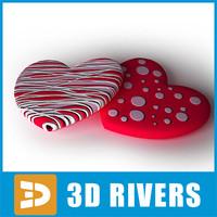 Valentine candies 02 by 3DRivers