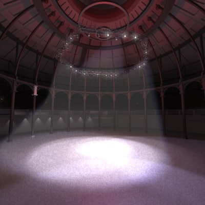 interior camden roundhouse max