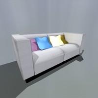 3d model ikea sofa
