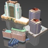 3d max building hotel
